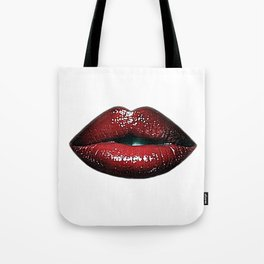 Luscious Red Lips SWAK A820 Tote Bag