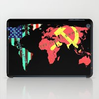 soviet iPad Cases featuring The American Empire and The Soviet Empire by Design Gregory