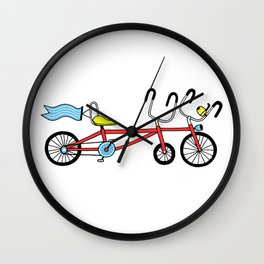 BICYCLE #1 Wall Clock