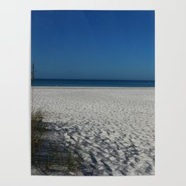 A Peaceful Day At A Marvelous Gulf Shore Beach Poster
