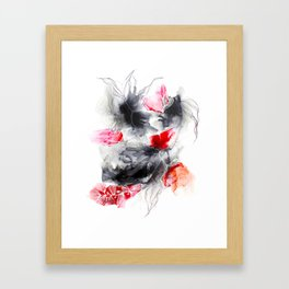 Les connections Framed Art Print