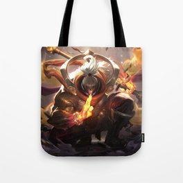 God Staff Jax League of Legends Tote Bag