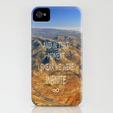 And in that moment, I swear we were infinite ∞. Aerial photo iPhone (4, 4s) Slim Case
