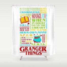 Granger Things Shower Curtain