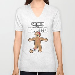 Shaun Of The Dead (Shaun Of The Bread) Unisex V-Neck
