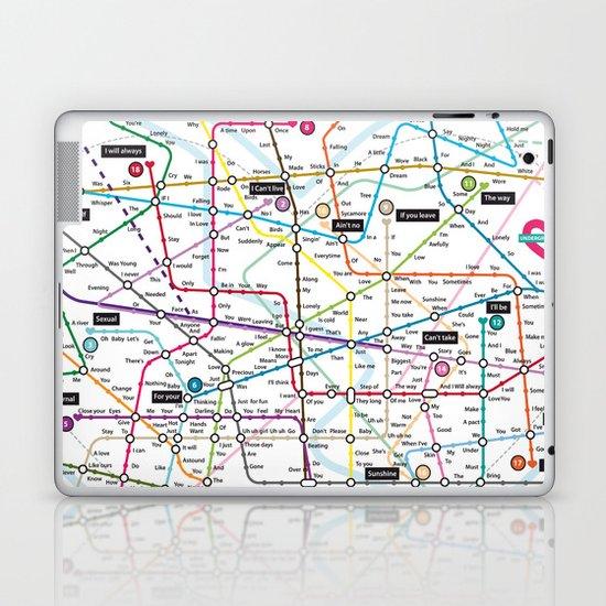 Love Map Laptop & iPad Skin