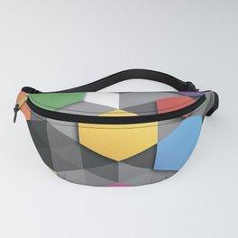 Geometric Colors Fanny Pack