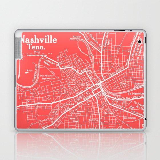 Vintage Nashville Pink Laptop & iPad Skin