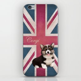 Royal Corgi Baby iPhone Skin
