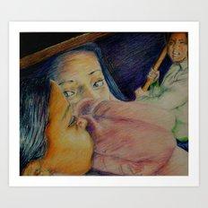 Intruder Art Print