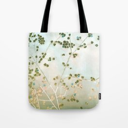 mosaica glitterati in blue + gold Tote Bag