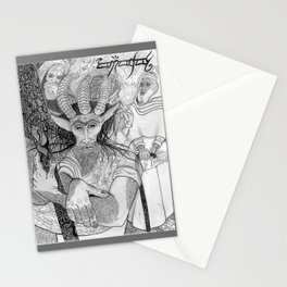 """Eh?"" ~ The Satyr Oarsman At Market Stationery Cards"