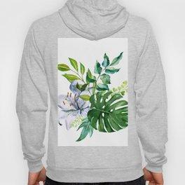 Flower and Leaves Hoody