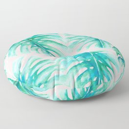 Paradise Palms Blush Floor Pillow