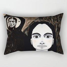 The TIC TOC FRIDA menAge Rectangular Pillow