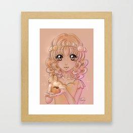 Oobanyaki Framed Art Print