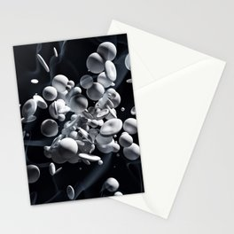Nanoparticles: the new dimension of science Stationery Cards