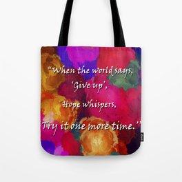 Hope Whispers Tote Bag