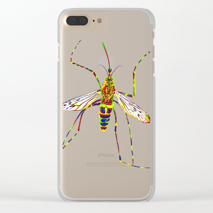 Mosquito Clear iPhone Case
