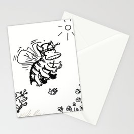 Vanguard of the Viking Ape-Bee Raiding Party Stationery Cards