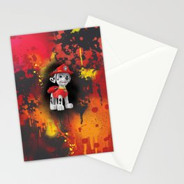 Marshal digital painting Stationery Cards