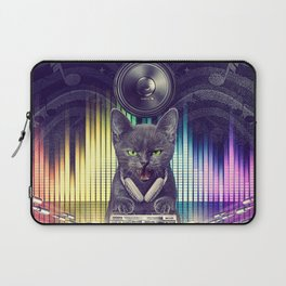 DJay Gray Cat Paws - Fire In The Party! Laptop Sleeve