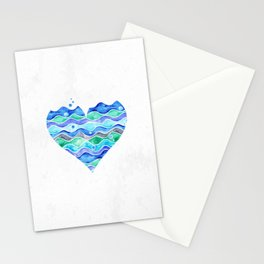 A Sea of Love (white) Stationery Cards