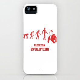 Russia Gift Idea for Russians iPhone Case