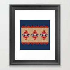 Daryl's Poncho Framed Art Print
