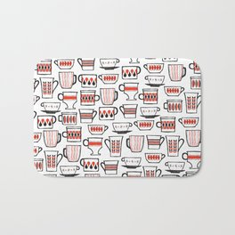 mod mugs Bath Mat