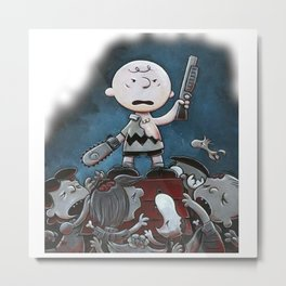 Charlie Brown Variant Metal Print