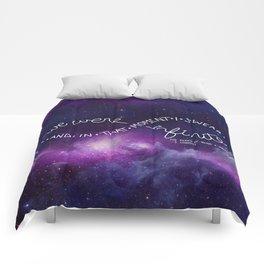 we were infinite (complete) Comforters