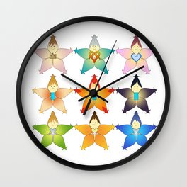 One Sky, One Destiny Wall Clock
