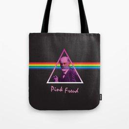 Pink Freud Tote Bag