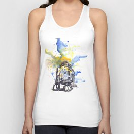 R2D2 from Star Wars Unisex Tank Top