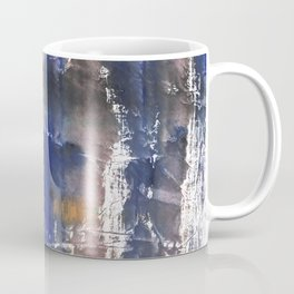 Pink blue watercolor Coffee Mug