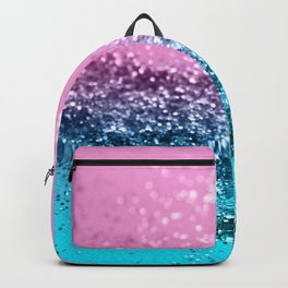 Tropical Beach Lady Glitter #1 #shiny #decor #art #society6 Backpack