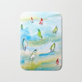 Windsurfing 1 Bath Mat
