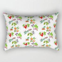 Autumn Fruits Rectangular Pillow