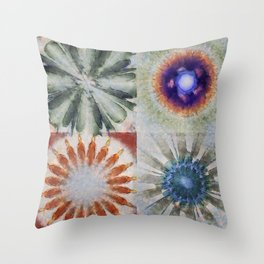 Aesthetes Formation Flowers  ID:16165-122917-34680 Throw Pillow