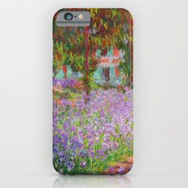 "Claude Monet ""The Artist's Garden at Giverny"" iPhone Case"