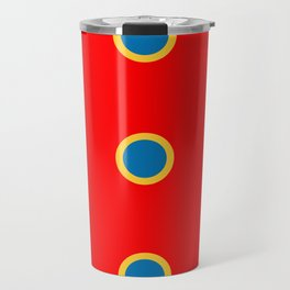 Dotted in Red Travel Mug