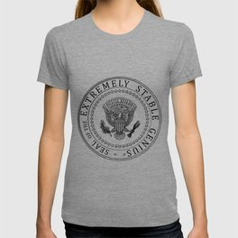Very Stable Genius t shirt, funny Donald Trump quotes, Extremely Stable Genius Presidential Seal, An T-shirt