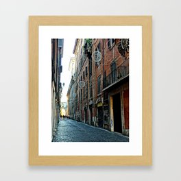 ohh Rome Framed Art Print