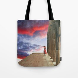 (I'll follow you to) The Edge of the World Tote Bag