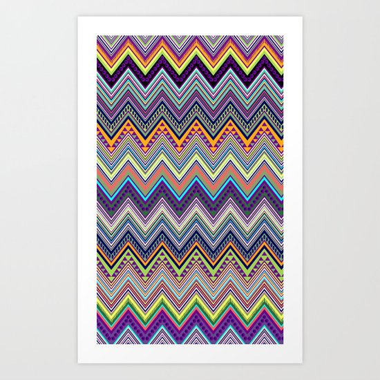 blast of summer Art Print