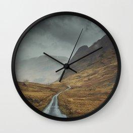 When the sky fall Wall Clock