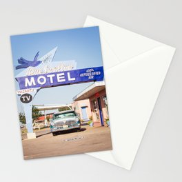 Vintage Route 66 Stationery Cards
