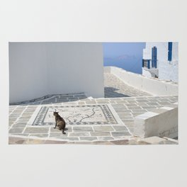 The Cat by The Aegean Sea, Milos Rug