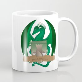 Clan Lochguard Green Crest Coffee Mug